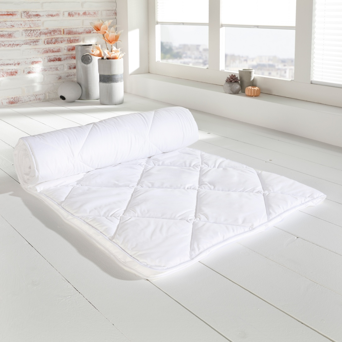 wellnessa steppbett basic 135 200 cm wolkenschloss. Black Bedroom Furniture Sets. Home Design Ideas